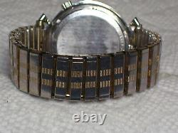 Bulova Accutron M6 Bow Tie 218D1st year production Tunning Fork watch with date