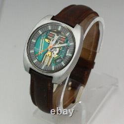 Bulova Accutron Spaceview 214 Tuning Fork N0 Stainless Steel Quartz Wristwatch