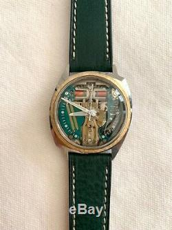 Bulova Accutron Spaceview Watch Famous 214 Tuning Fork Movement SERVICED