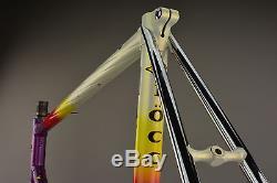 Ciocc, Ciöcc Strada Columbus Cromor Steel Lugged Engraved Frameset, Frame, Fork, 55