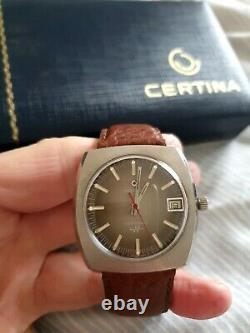 Certina Certronic 1974 tuning fork watch