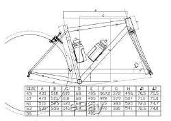 Chrome Steel Road Bike Frame Carbon Fork 700C Classic 4130 Heat Treated Tapered