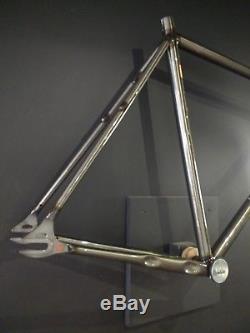 Cinelli Mash Work Smoke Steel Frame, Forks & Headset I XLG (58) RRP £1099.00