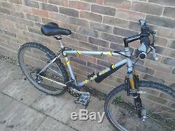 Classic steel Bontrager Privateer mountain bike with XT & rare Pace forks