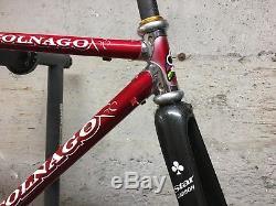 Colnago Master Carbon B-Stay Frame with Star Carbon Forks 50cm