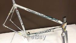 Colnago Master Olympic Columbus Gilco 52 53 cm steel bicycle frameset frame fork