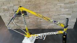 Colnago Master Olympic Columbus Gilco steel frameset frame carbon fork 54 55 VGC