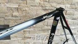Colnago Master / Tecnos Columbus steel frameset frame fork 58 56 cm VGC