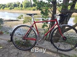Colston Audax/commuter/light Tourer, 54cm, 21, Reynolds 653 steel frame and forks