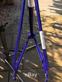 Condor Fratello Frameset 49cm Columbus Spirit Steel With Carbon Forks
