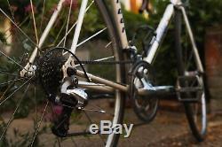 Condor Reynolds Steel 853 Road Bike 753 Argos Aero Forks Shimano 105 Tiagra