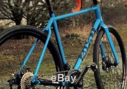 Cotic Escapade 2018 Frame and Forks, Blue, Large, Steel Gravel / Adventure Bike