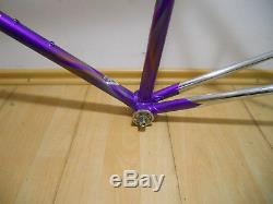 Cucchietti road racing bike steel frame and fork Columbus SLX made in Italy