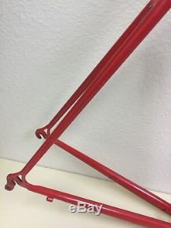 Curtlo Frame And Fork XL Chromoly Tubing British Threading