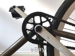 Custom Fixed Gear Bike ESB Forks, Profile Cranks, Tree Chainwheel, Restrap