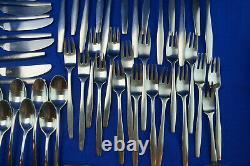 Dansk Variation V (98) Pieces, Forks, Spoons, Knives, Serving-Iced Tea-Butter