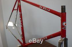 EXC De Rosa Frame and Forks Columbus SLX NEW 57cm