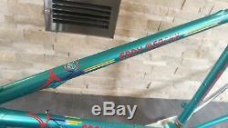 Eddy Merckx Corsa Extra Columbus SLX NEW steel frameset 52 cm frame fork VGC