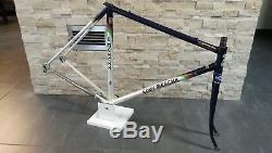 Eddy Merckx Corsa Extra Columbus SLX steel frameset frame fork 53 cm USED