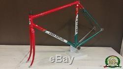 Eddy Merckx Corsa Extra Team 7-Eleven Columbus SLX frameset frame fork 52 53 VGC