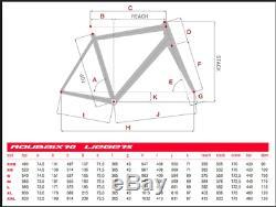 Eddy Merckx Frameset Roubaix 70 Steel Columbus Vintage With Carbon Fork Size M