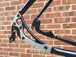 Enigma Elite HSS steel disc frameset Columbus Spirit tubes Enve Road 2.0 fork