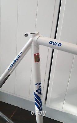 Fantastic Vintage CIOCC Gufo Columbus Steel Track Frame And Forks