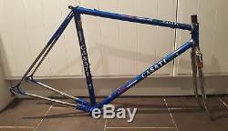 Fantastic Vintage Casati Gold Line Columbus SLX Steel Frame & Forks 54 cm