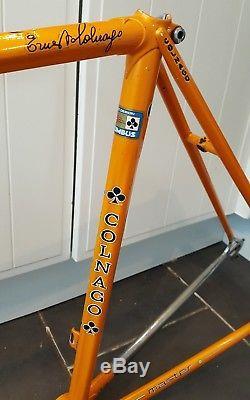 Fantastic Vintage Colnago Master Columbus Gilco Steel Frame & Forks 52 cm
