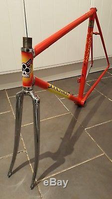 Fantastic Vintage Colnago Superissimo Columbus SL Steel Frame & Forks