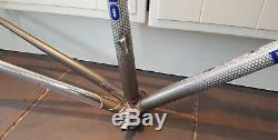 Fantastic Vintage Pinarello Montello Columbus SLX Steel Frame & Forks