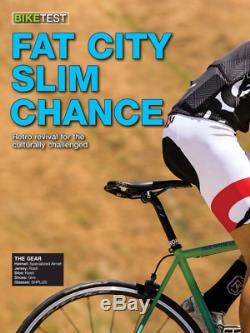 Fat Chance. Slim Chance Frameset. Small. Steel Segmented Fork. Chris King Hset