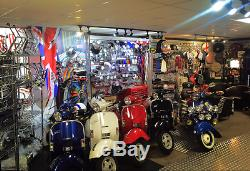 Fork link covers stainless steel Super (pair) for Lambretta by Casa Lambretta