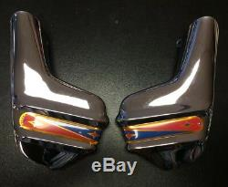 Front fork link covers stainless steel Super (PAIR) for Lambretta by Casa