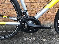 Genesis Equilibrium Disc Custom Build Road Bike, 725 Frame Carbon Fork Silver