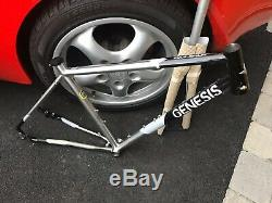 Genesis Equilibrium Disc Reynolds 931 Stainless Steel Frame And Carbon Fork XS