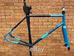 Genesis Equilibrium Disc Road Bike Frameset, Frame Carbon Fork Steel Frame