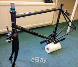 Genesis Equilibrium Frame & Forks with Chainset, Brakes and 105 parts