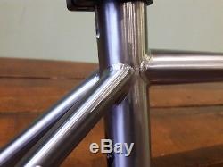 Genesis Equilibrium Reynolds 931 Stainless Steel Disc frame Medium Carbon Fork