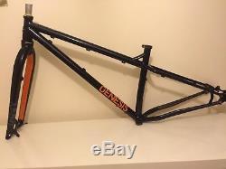Genesis Tarn Frameset frame fork 650b+ plus 29er steel MTB Small/medium + bits