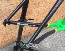Genesis Volare (10) Reynolds 853 Steel Frameset, Carbon Fork 56cm USED 2014