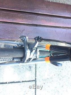 Genesis Volare 953 stainless steel bike. Ultegra Di2 groupset. ENVE forks