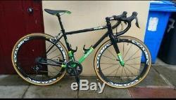 Genesis Volare Reynolds 853 Enve Carbon Fork Road Bike Frameset 52cm