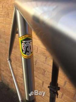 Genesis Volare Reynolds 931 Stainless Steel Frameset, Carbon Fork BB, 56cm USED