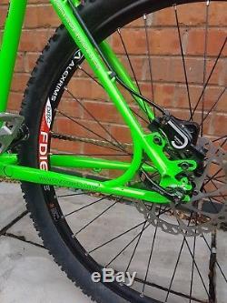 Genesis io id ss single speed Reynolds steel rigid mtb & New on one forks 26