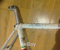 Gios Torino Professional frame and forks. Columbus tubing. 53 cm