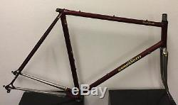 Guerciotti Frame And Fork 57 CM Columbus Tubing Campagnolo Dropouts