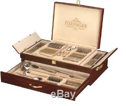 Heavy 72 Piece Gold Cutlery Set Stainless Steel Canteen Christmas Gift