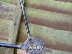 Hobbs of Barbican Criterium vintage 1946 Frame & forks, lugless, fillet brazed