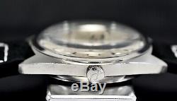 IWC Schaffhausen Electronic Tuning Fork, steel 36mm case, 70's vintage watch